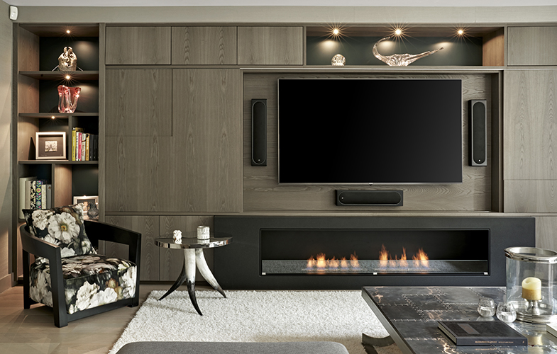 Wimbledon Living Room furniture with built-in media wall