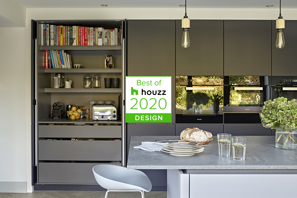 Brayer Design Kitchen with Best of Houzz 2020 badge