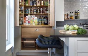Esher country kitchen pantry cupboard interior bespoke design