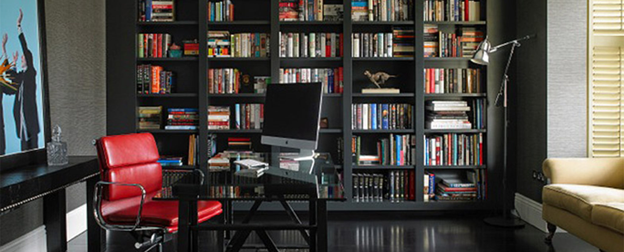 Bespoke Bookcases for Study Room