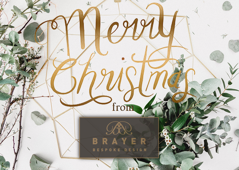 Merry Christmas from Brayer Design 2017