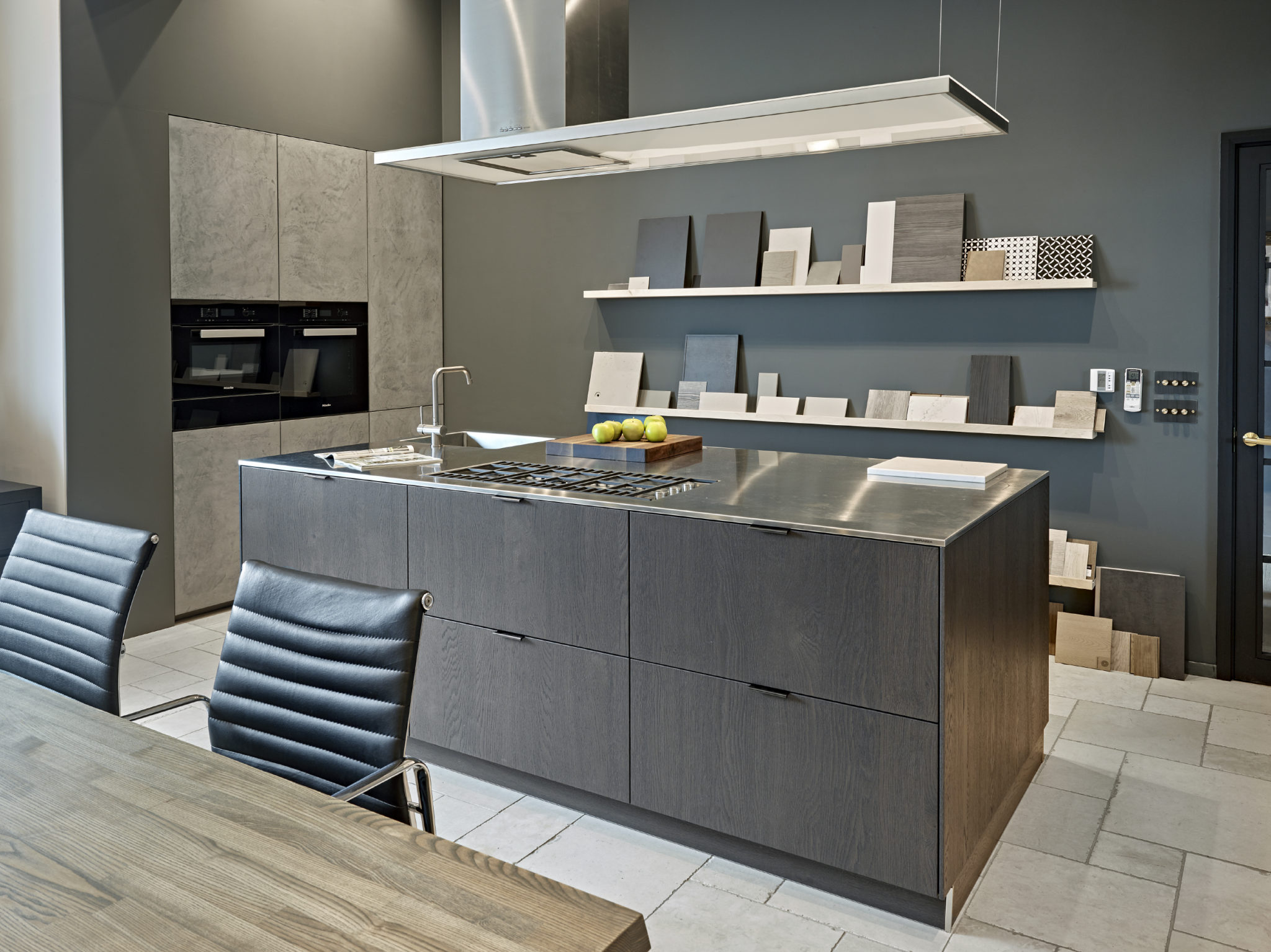 Display Kitchen at The Brayer Design Studio - Design office/showroom in Surbiton, Surrey