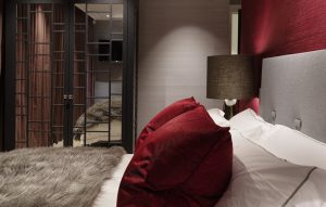 Bespoke bedroom furniture for Chelsea Penthouse Project