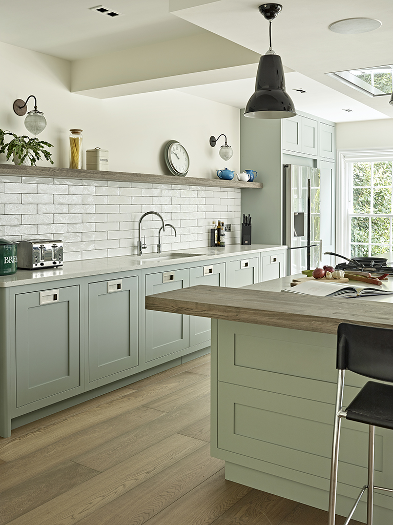 Modern shaker kitchen design for Wimbledon home