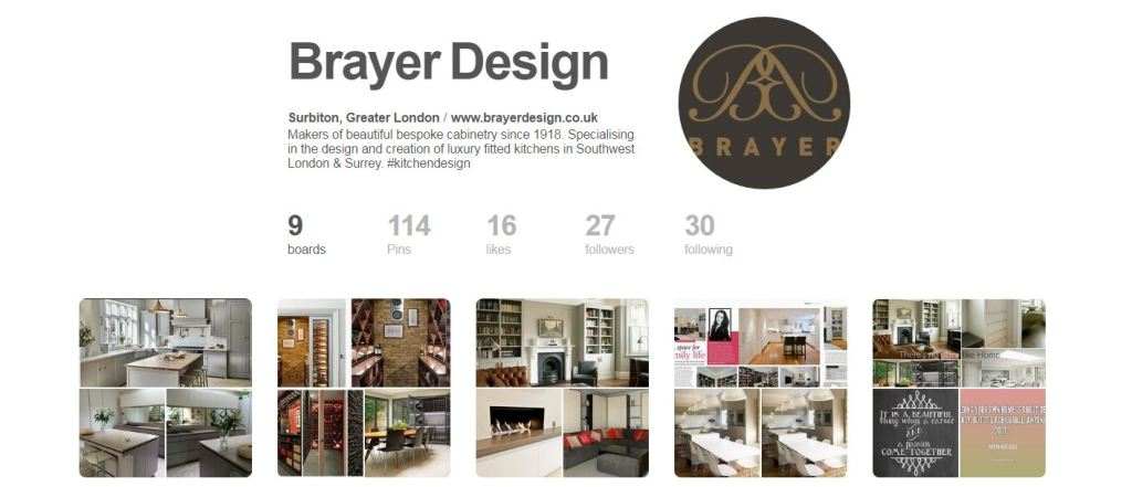 Let's Get Social: Brayer Design's profile on Pinterest