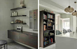 Bookcase and AV Furniture for Wimbledon Home renovation