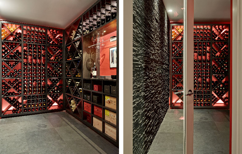 Wandsworth wine room
